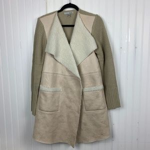 WD.NY Tan Lined Jacket